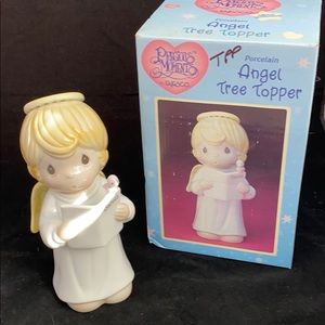 New Precious Moments Christmas Tree Topper